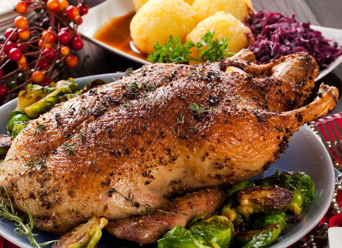 Rezept Klassische Weihnachtsgans Mit Fullung Schonecke