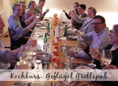 Kochkurs Geflügel Grillspaß - Kochen unter Freunden