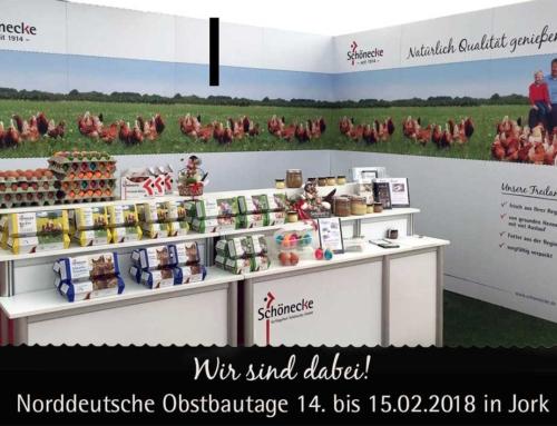 Wir sind dabei: Norddeutsche Obstbautage in Jork am 14. – 15. Februar!