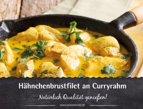 Hähnchenbrustfilet an Curryrahm