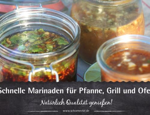 Schnelle Marinaden für Pfanne, Ofen und Grill