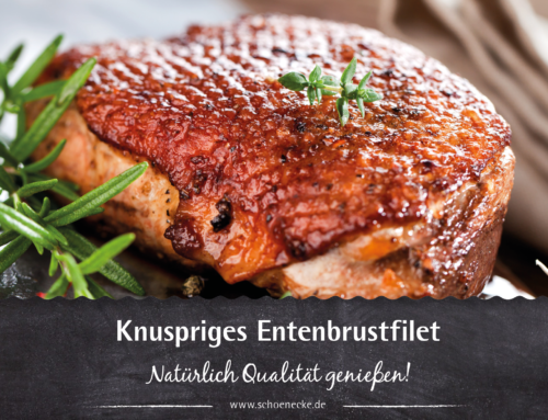 Knuspriges Entenbrustfilet
