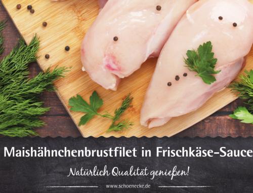 Maishähnchenbrustfilet in Frischkäse-Sauce