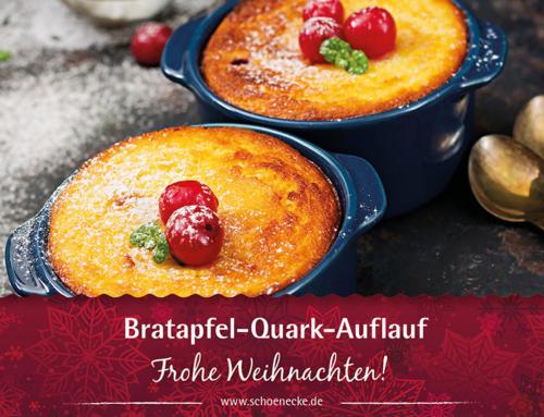 Bratapfel-Quark-Auflauf