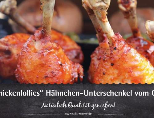 """""""Chickenlollies"""" Hähnchen-Unterschenkel vom Grill"""