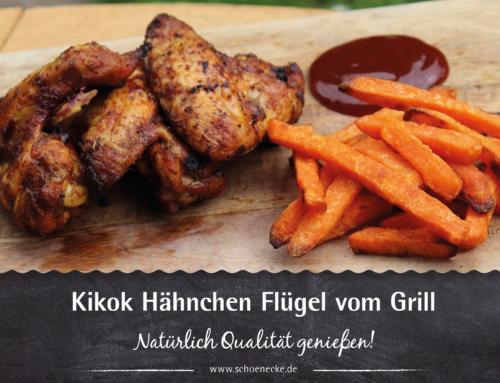 Kikok Hähnchen Flügel vom Grill
